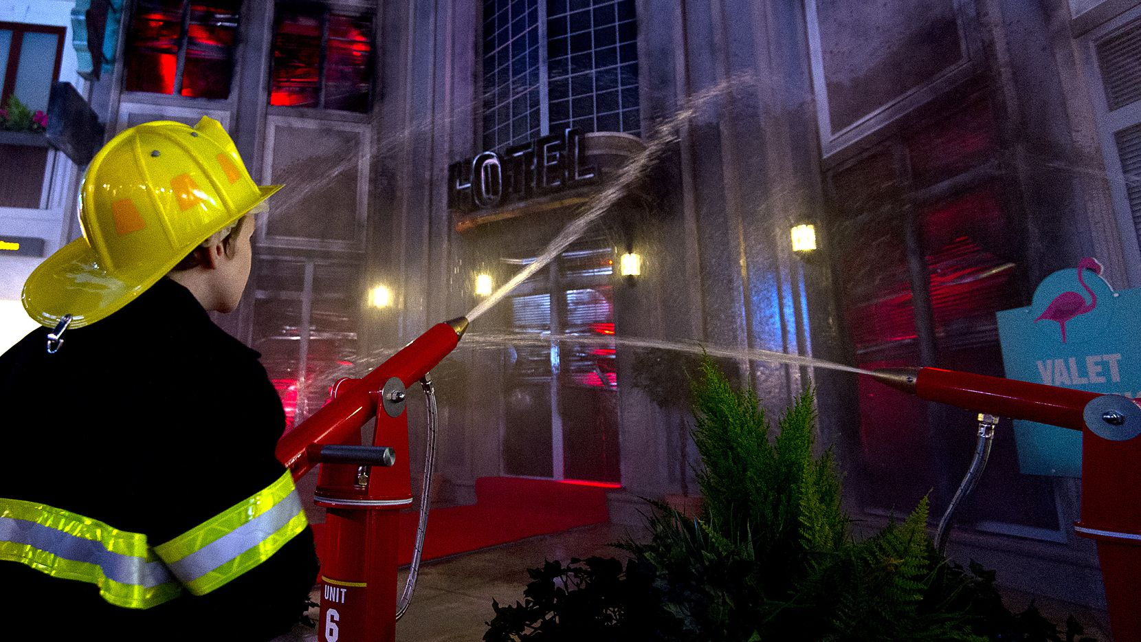 Kids can pretend to be firefighters at the KidZania in London shown here in 2015.