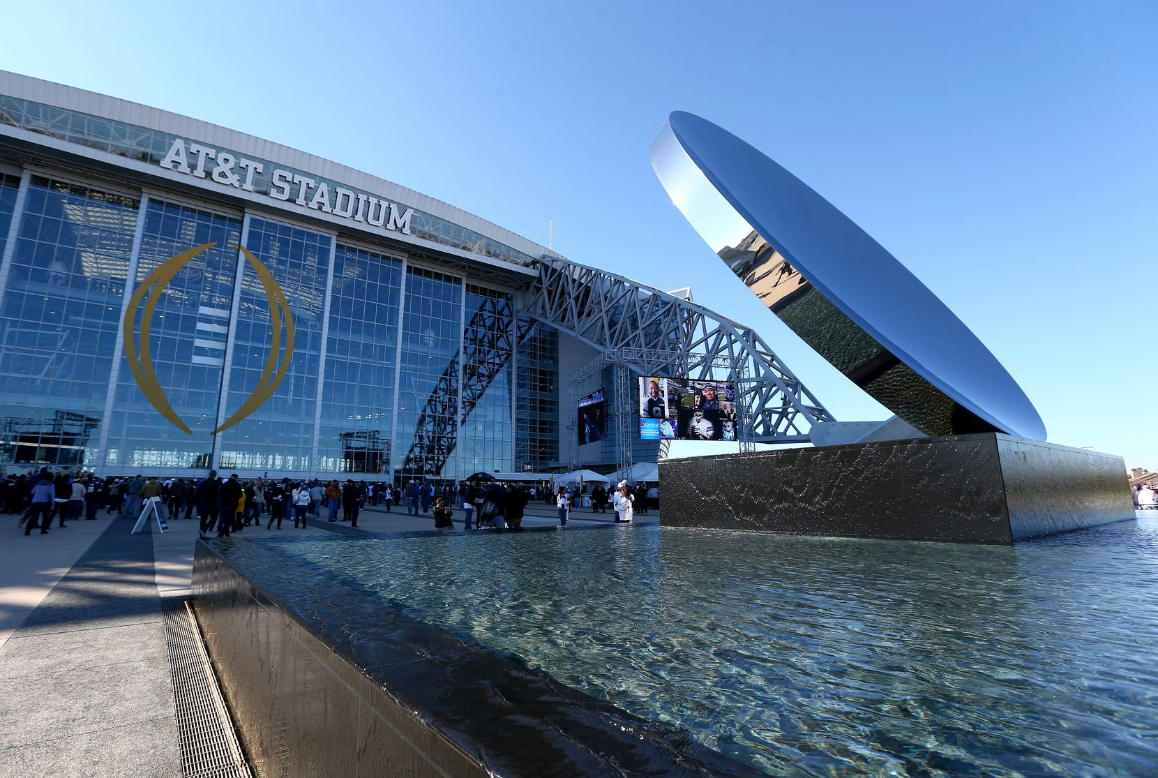 AT&T reached a deal in 2013 with the Dallas Cowboys for naming rights to its stadium in Arlington.