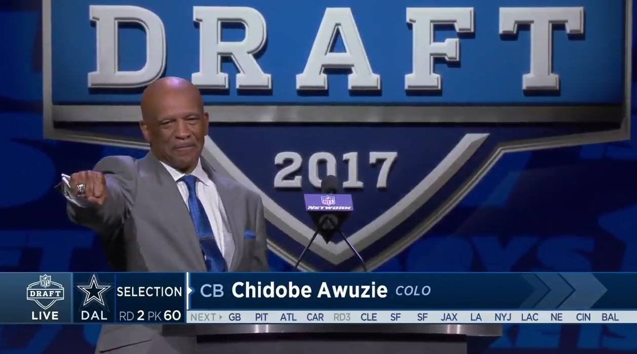 Drew Pearson/Screenshot via NFL.com video