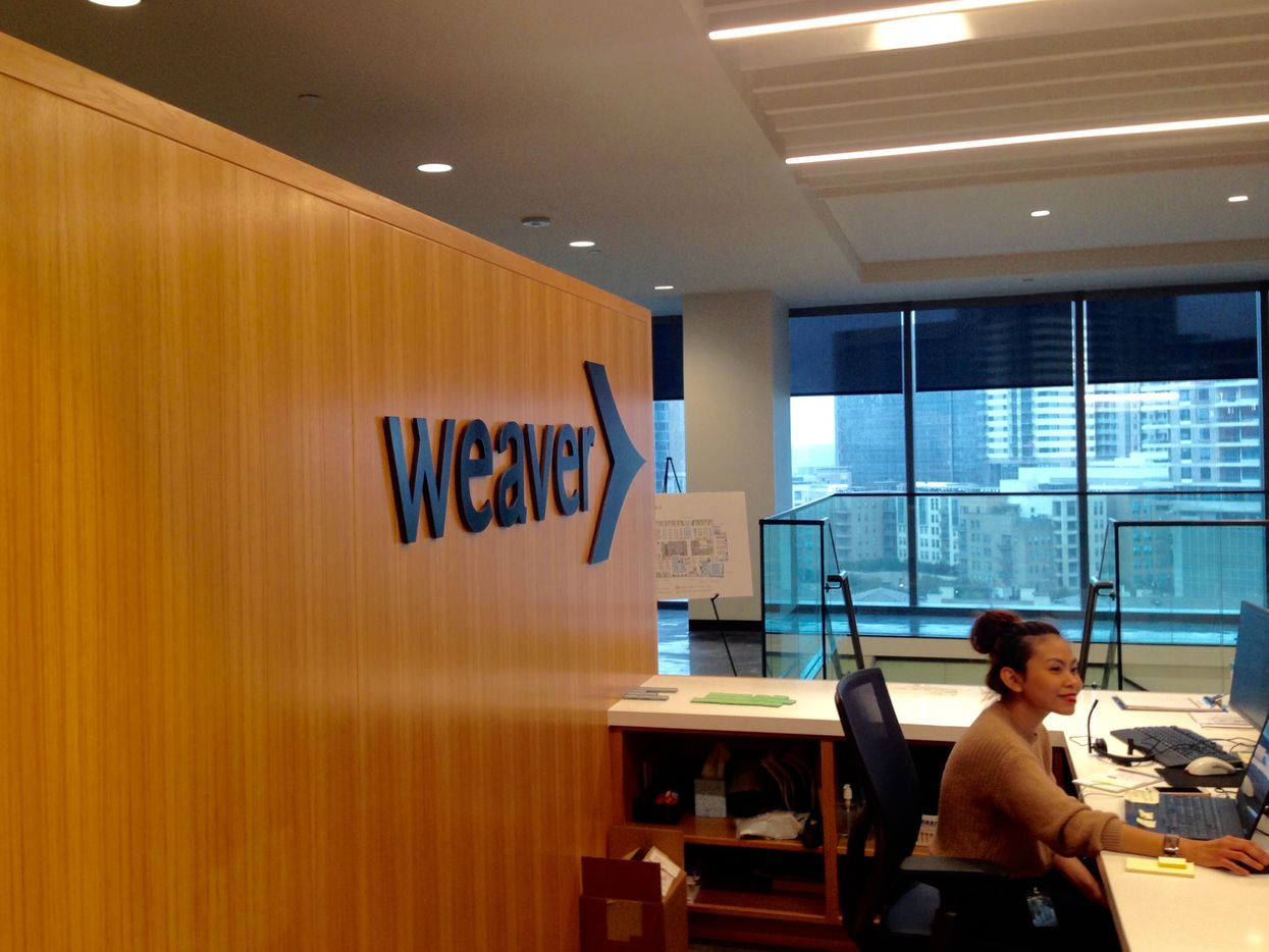 Accounting firm Weaver has moved into The Union.