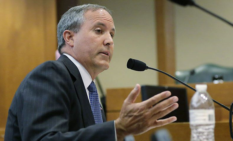 Texas Attorney General Ken Paxton. (File 2015/The Associated Press)