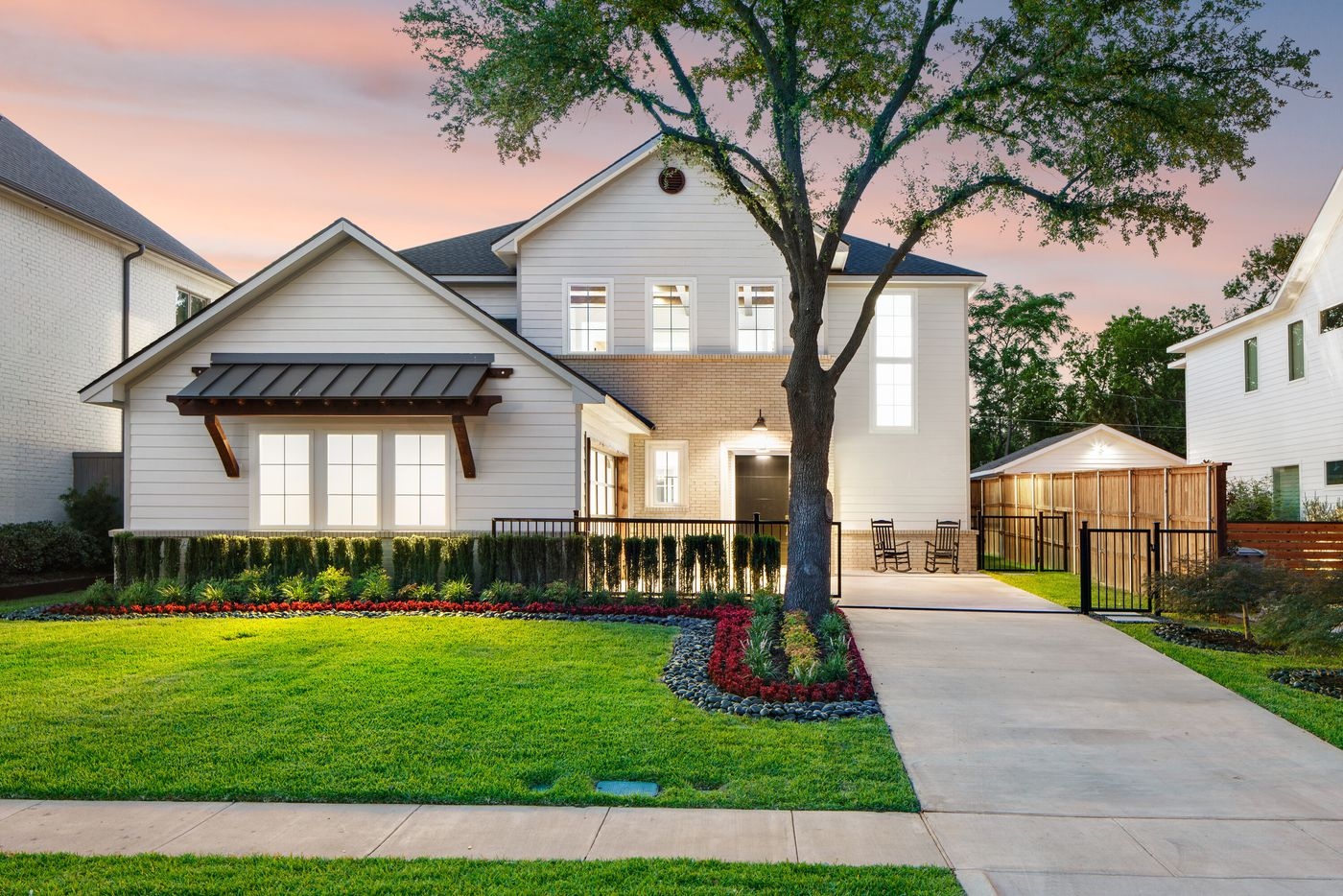Take a look at the inside of the home at 3935 Lively Lane in Dallas, TX.
