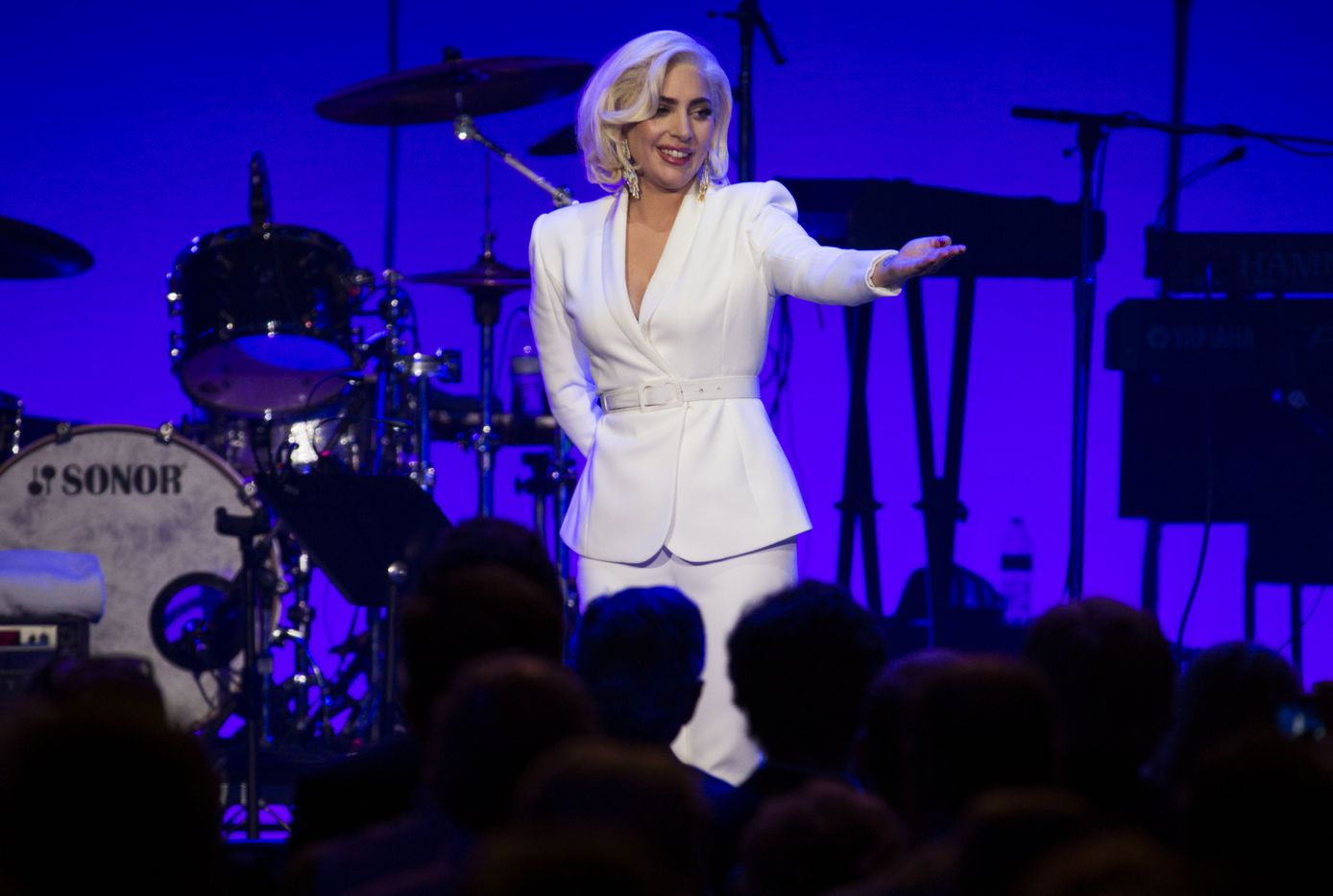 Lady Gaga made a surprise appearance.