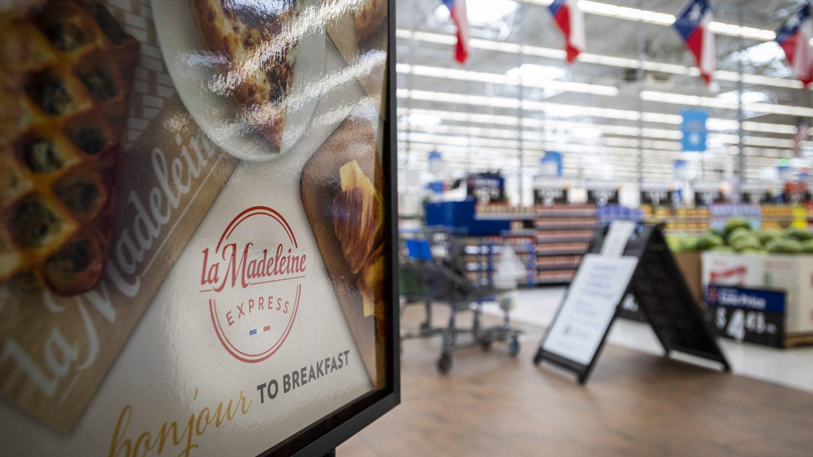 Locales de La Madeleine Express aparecerán en Walmart desde octubre.