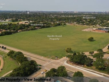 Richardson city leaders are surveying the public about what should be done with a vacant 26-acre land parcel known as the Apollo Road property.