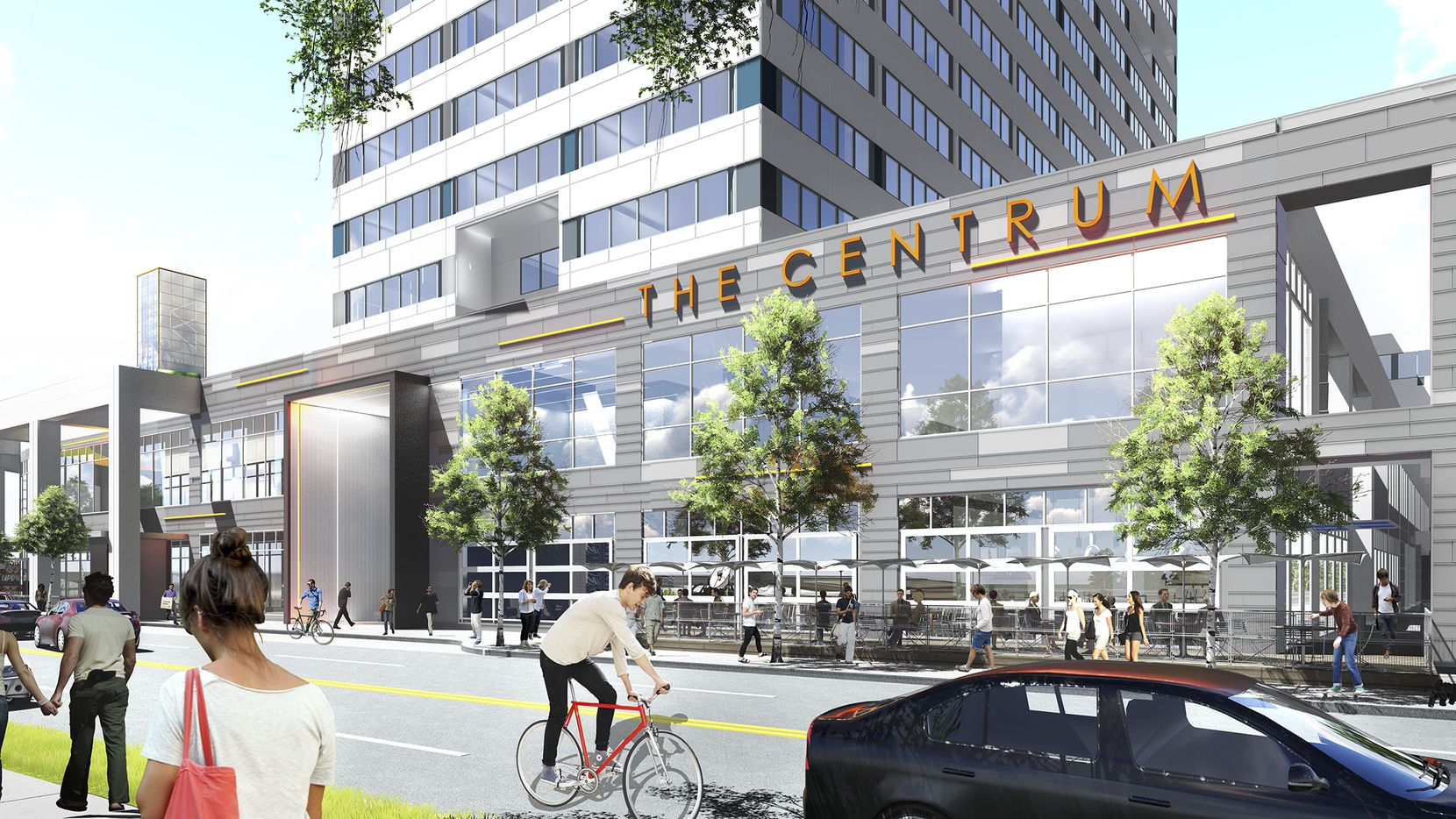 The owners of the Centrum are spending $24 million on upgrades for the Oak Lawn tower.