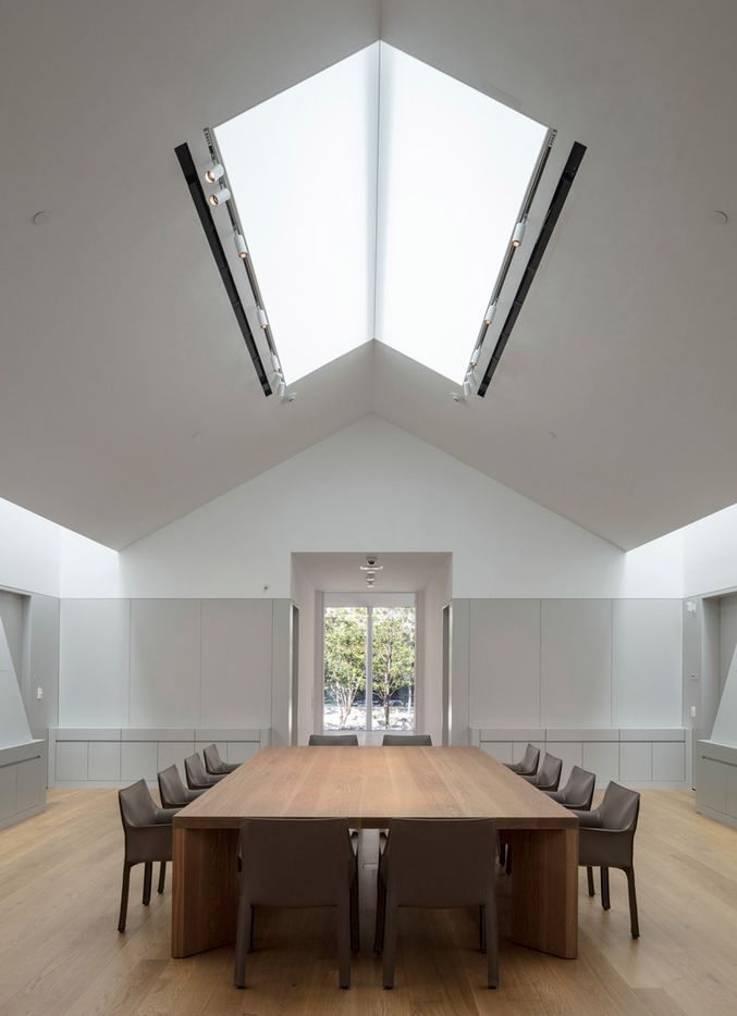 Janie C. Lee Drawing Room of the Louisa Stude Sarofim Building housing the Menil Drawing Institute, at The Menil Collection in Houston. Johnston Marklee, architects