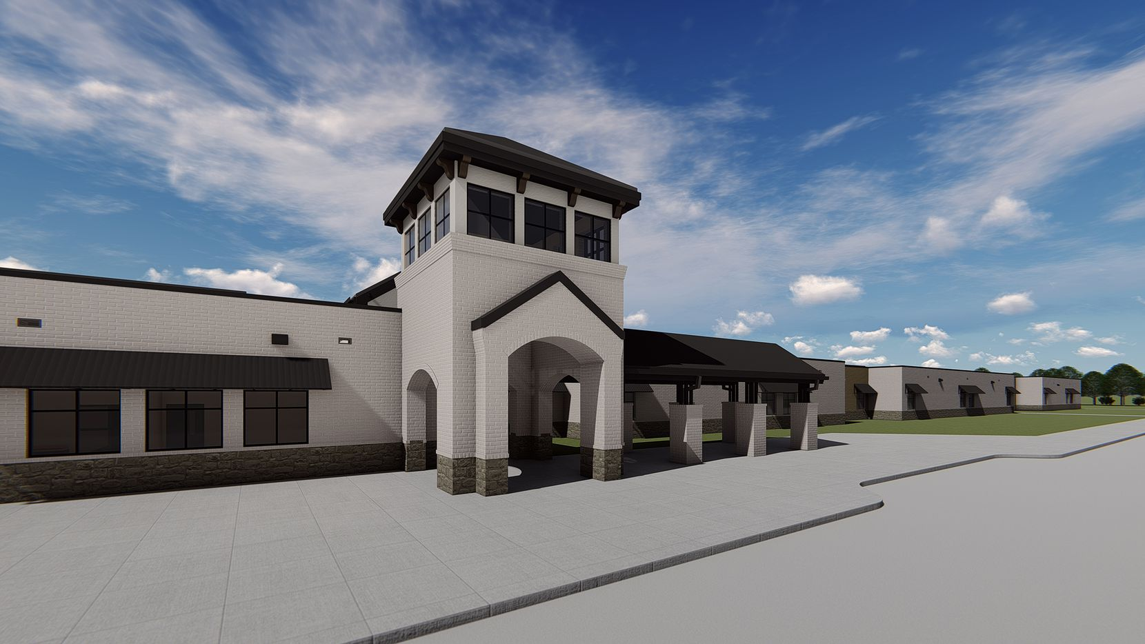 Mustang Lakes in Celina will mark the opening of Sam Johnson Elementary School in August.