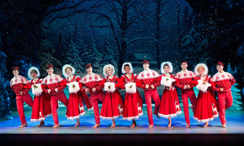 The national tour of Irving Berlin's White  Christmas  hits Dallas Summer Musicals Dec. 5-10 at Fair Park Music Hall.  (Jeremy Daniel)