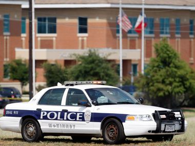 McKinney police arrested a man charged in the theft of a Princeton ISD school bus.