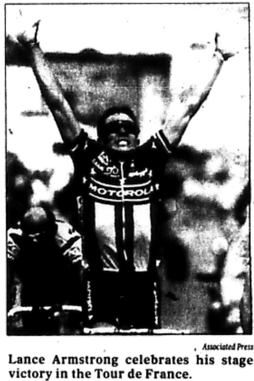 Photo from July 12, 1993 article.