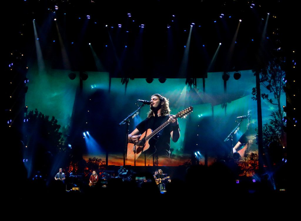Members of the iconic band, the Eagles, performed to the delight of a capacity crowd. Chris Stapleton and the Eagles performed for their enthusiastic fans at AT&T Stadium in Arlington on June 23, 2018. (Steve Hamm/ Special Contributor)