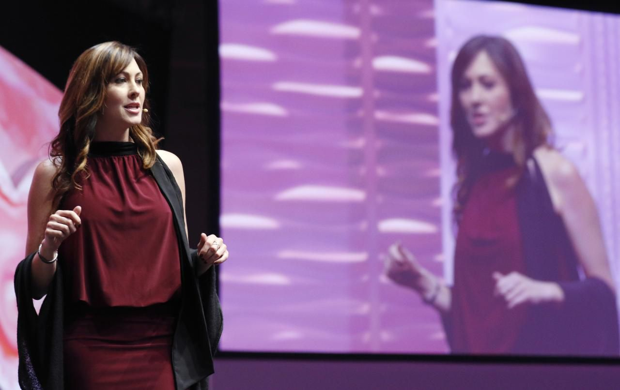 Since partnering with Mary Kay, Abi Ferrin has spoken at events like the company's first Global Day of Beauty earlier this year, where Mary Kay provided makeovers for women in domestic violence shelters in major cities across the country.