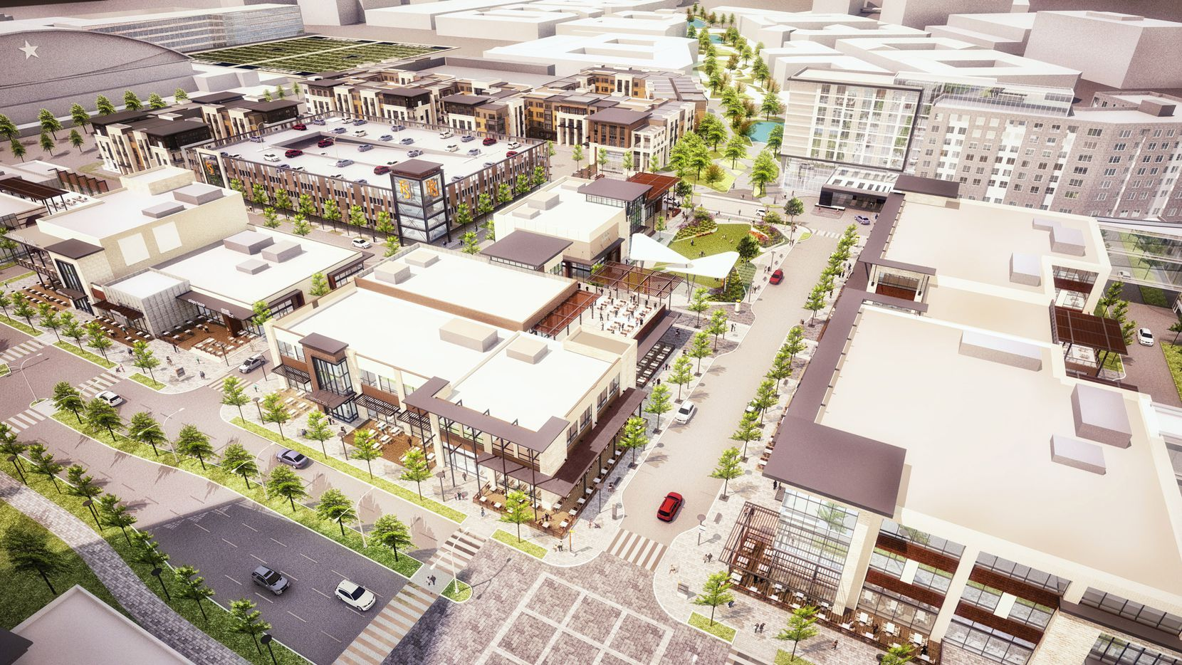 A four-hotel complex in the works in $1 billion Frisco Station project and will be located in the mixed-use Hub portion of the development.