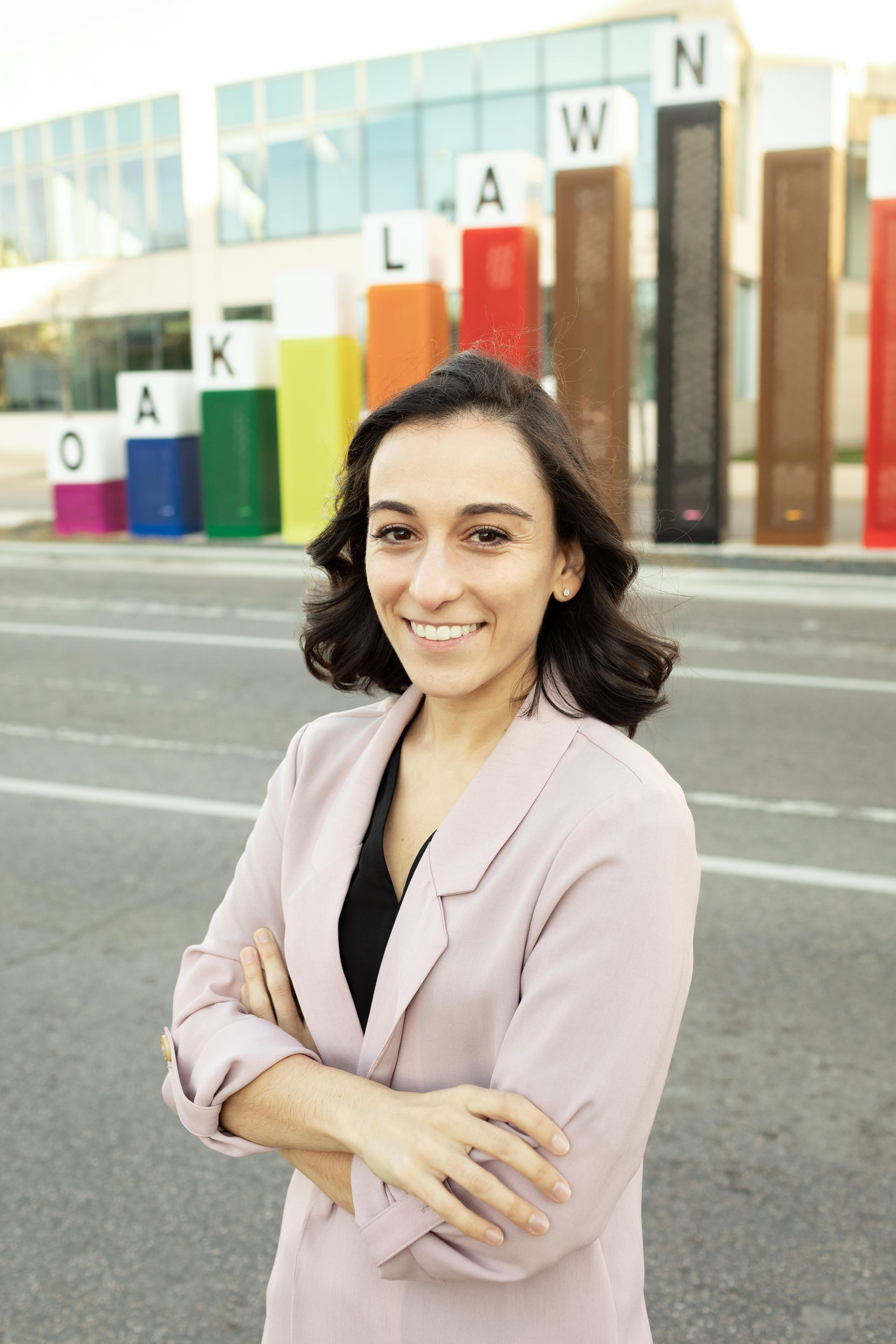 Raha Assadi, Dallas City Council District 2 candidate. (Photo by Brittany Villegas)