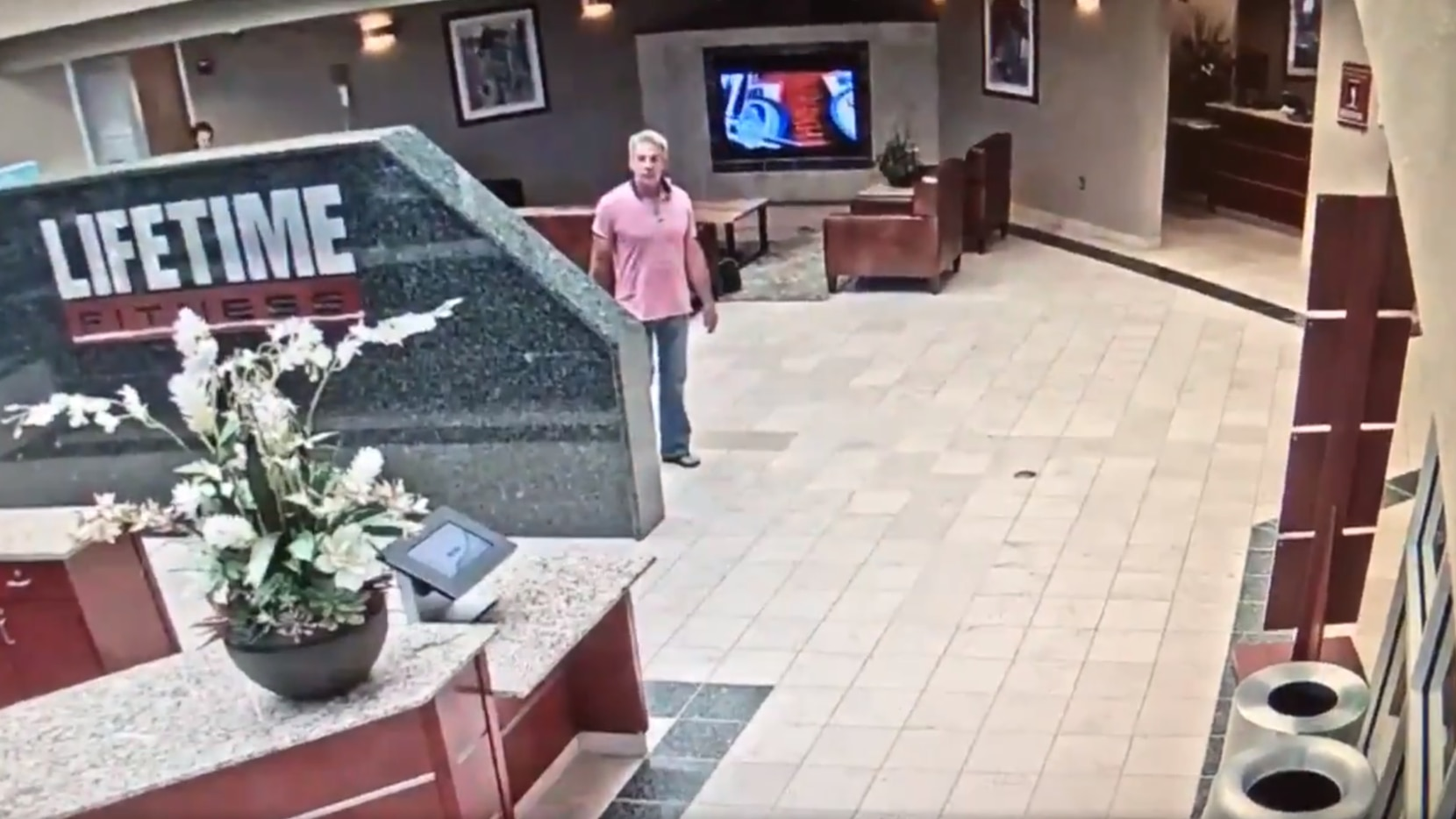 Police are looking for a man who they believe has stolen $90,000 in jewelry from Lifetime Fitness locations in Colleyville, Dallas and Plano.