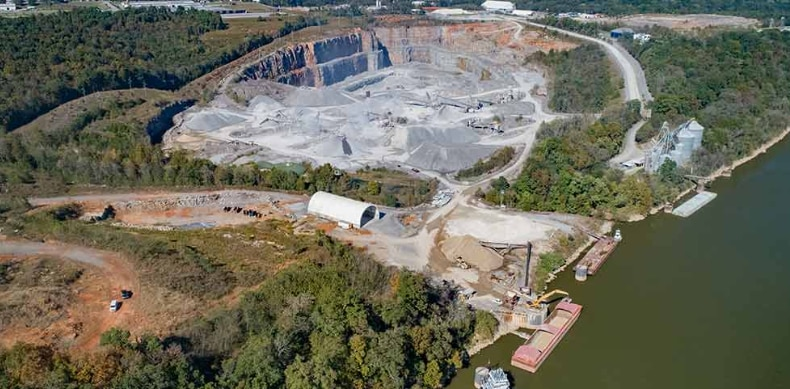 A StonePoint quarry in Kentucky.