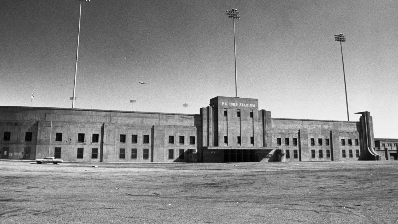 P.C. Cobb Stadium hosted high school football and even a professional team.