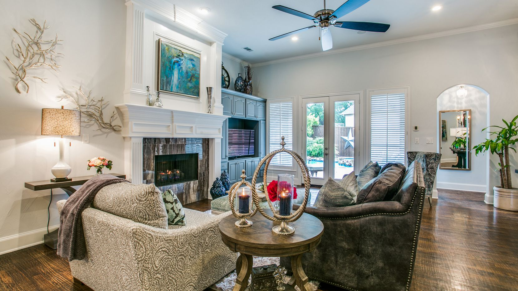 Tour the updated home at 6805 Cannon Falls Drive in Plano from 2 to 4 p.m. on Nov. 10. It is listed for $679,000.