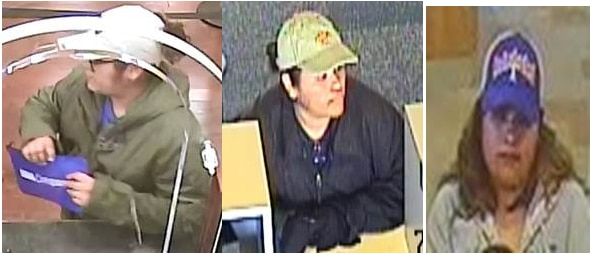 Dallas police suspect this woman in three recent bank robberies.