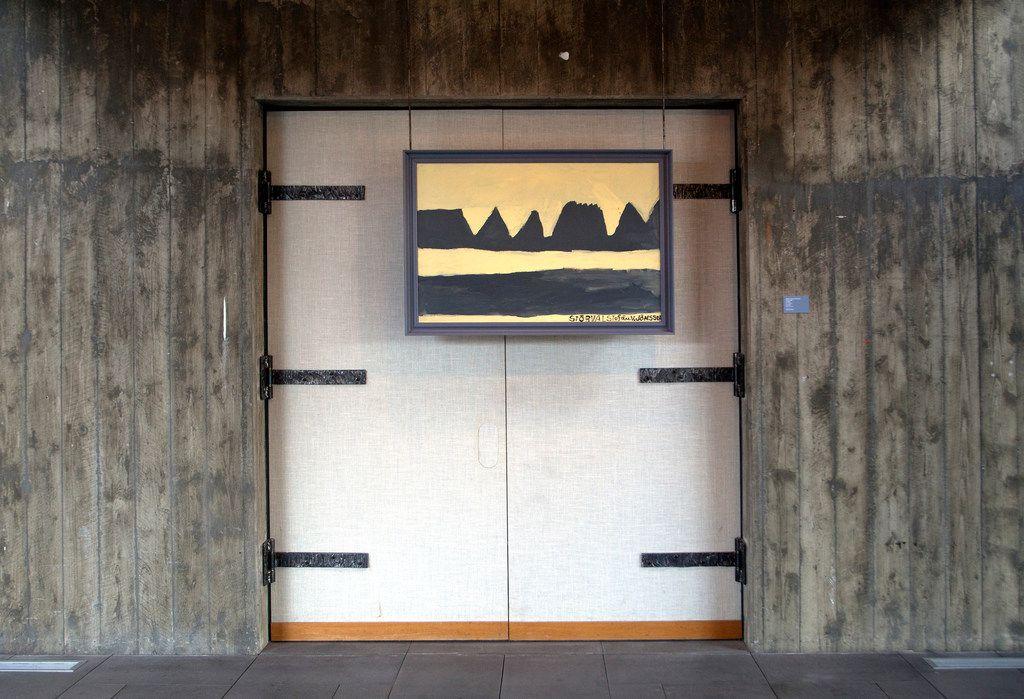 Reykjavik Art Museum, Kjarvalsstaðir. Stefan V. Jonsson (Storval),  Mt. Herdubreid, Her ubrei