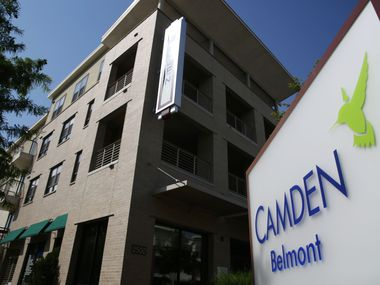 An exterior view of the Camden Belmont Apartments at 2500 Bennett Avenue in Dallas on Saturday May 28, 2016.