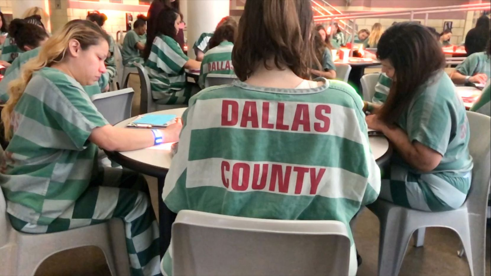 "Female inmates in the Dallas County Jail inspired the new film ""In Her Shoes."""
