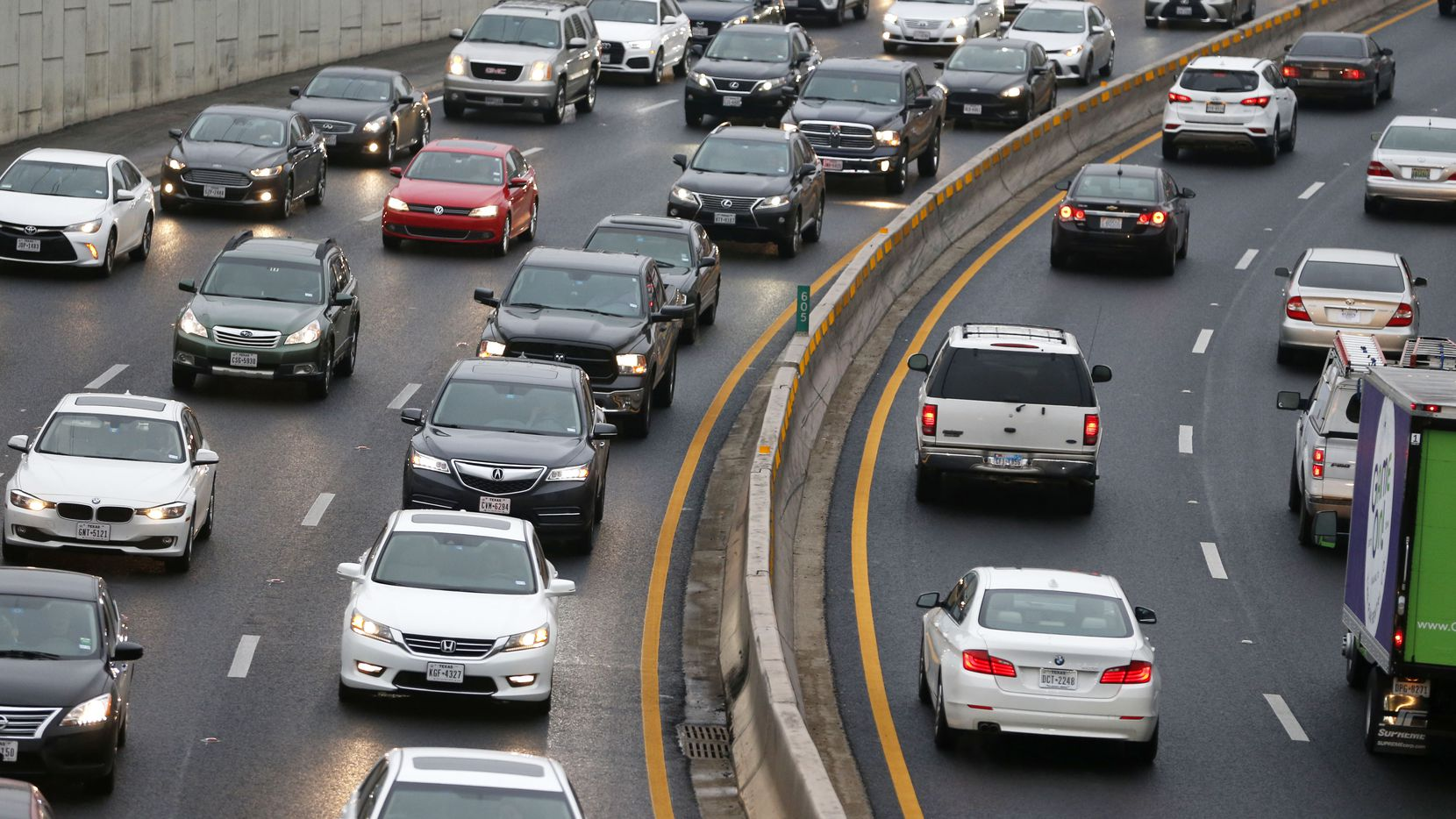 Moe than half of Dallas-area drivers have reverse commutes from urban areas to the 'burbs, according to commercial property firm JLL.