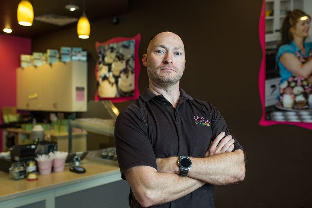 Chet Kenisell has been a franchisee of Gigi's Cupcakes for seven years, and while he owns a shop in Texas, he is also simultaneously suing the founder and parent company.