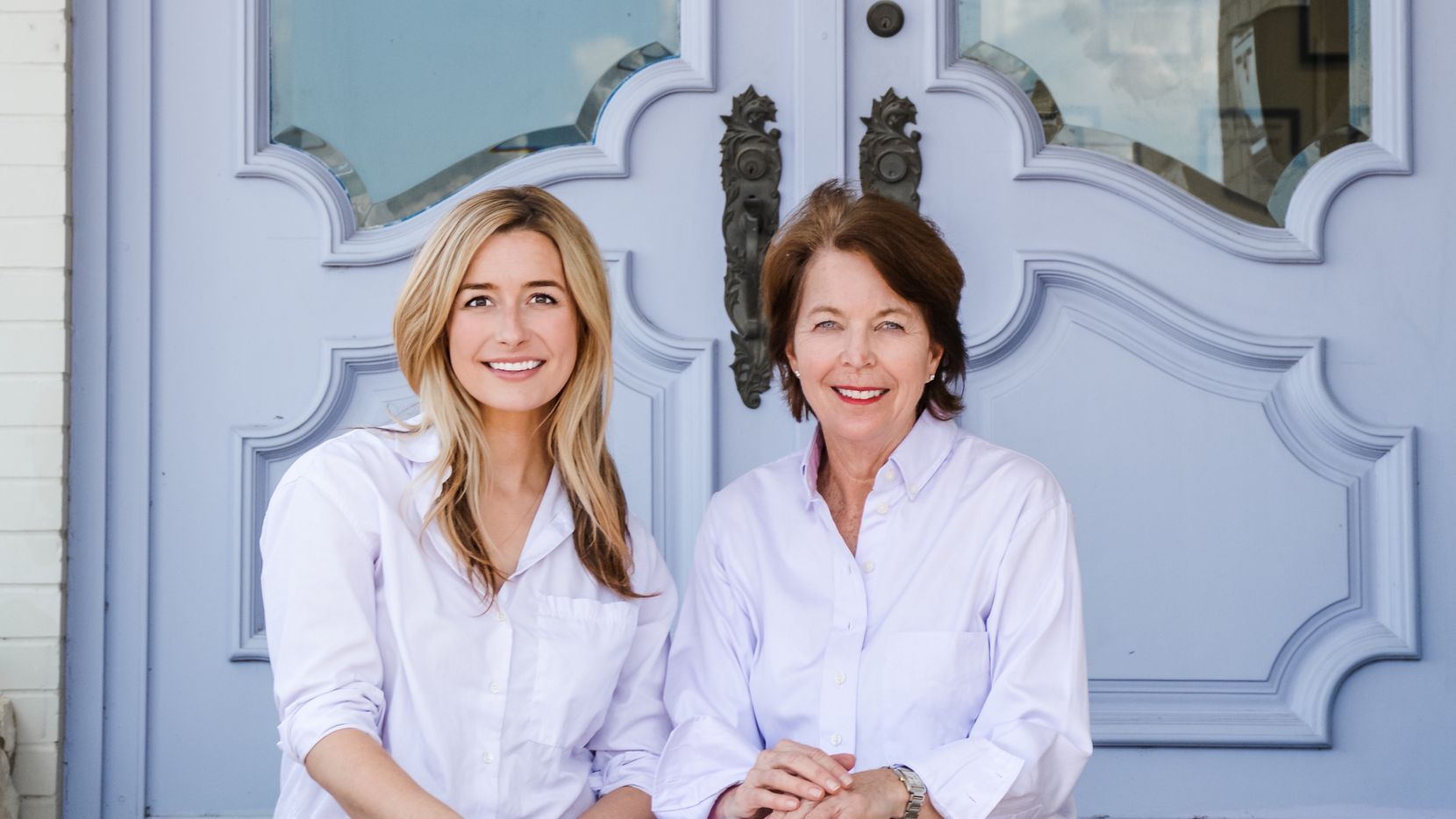 Connie Kleinert Babikian (left) is taking over as the new majority owner and president of The Pillow Bar from founder Merrimac Dillon. Dillon started the Dallas-based company in 2008.