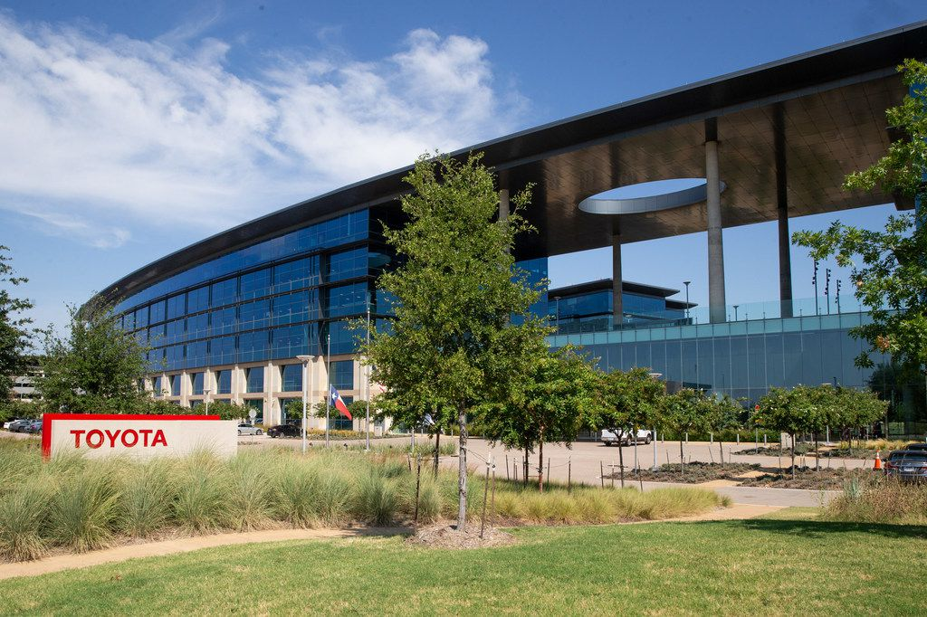 The Toyota North American headquarters is photographed in Plano, Texas, on Wednesday, Aug. 7, 2019. (Lynda M. Gonzalez/The Dallas Morning News)