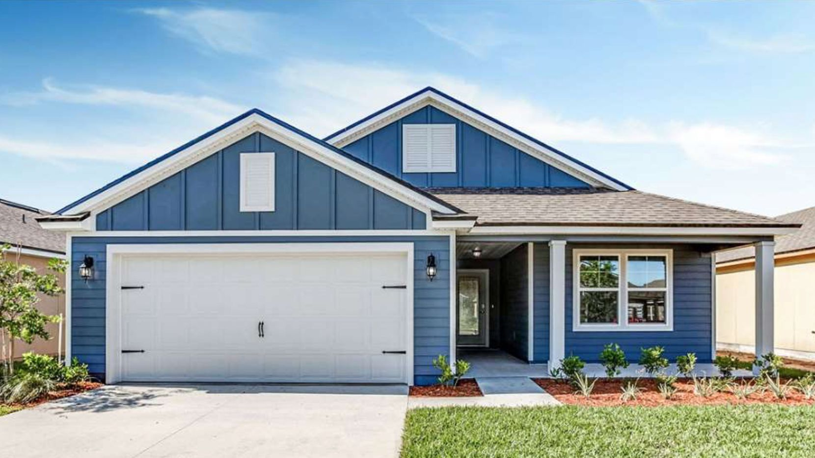D.R. Horton' new home sales orders were up 38% in the just completed quarter.