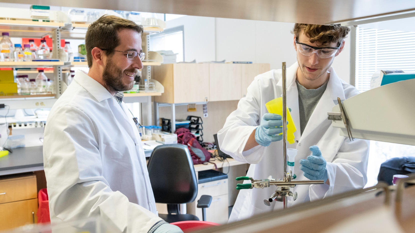 McLellan, an associate professor of molecular biosciences at UT, leads a research team that has helped other scientists understand the nature of the coronavirus.