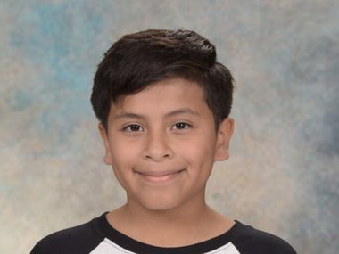 Nine-year-old Nico Escalante died Sept. 11 when he was hit by a car in Grand Prairie.
