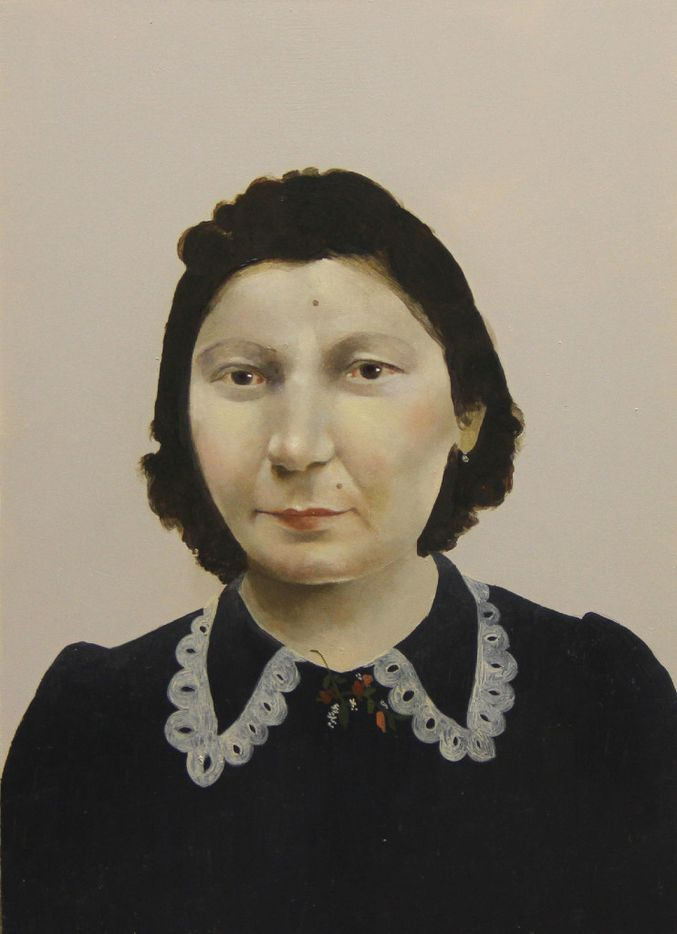 Romanian,  2016 , by Sarah Ball; oil on gessoed panel