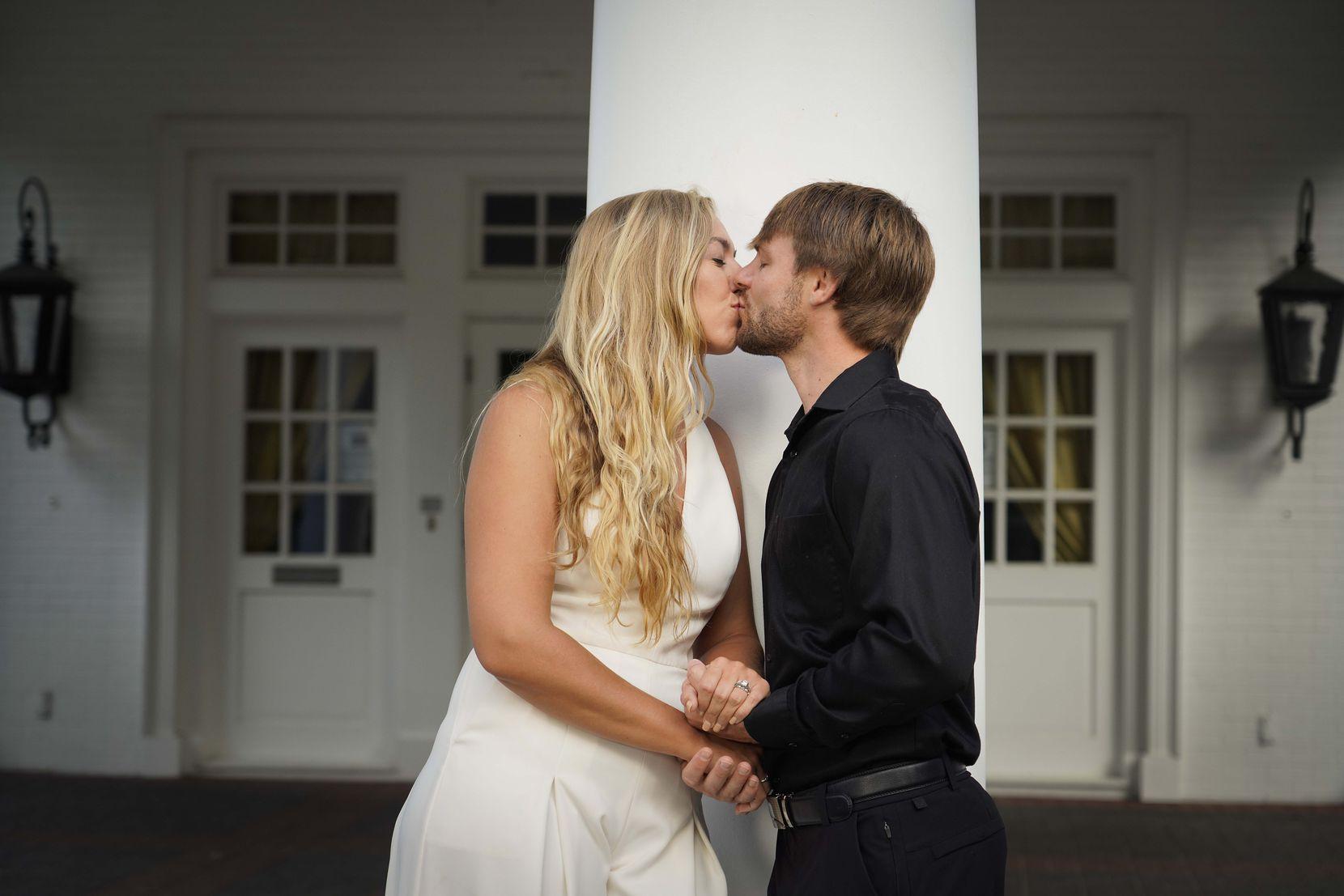 La cérémonie de Christine et Daniel Twito était l'une des trois seules qui se sont déroulées au printemps et en été pour la wedding planner Jacqueline Hill.