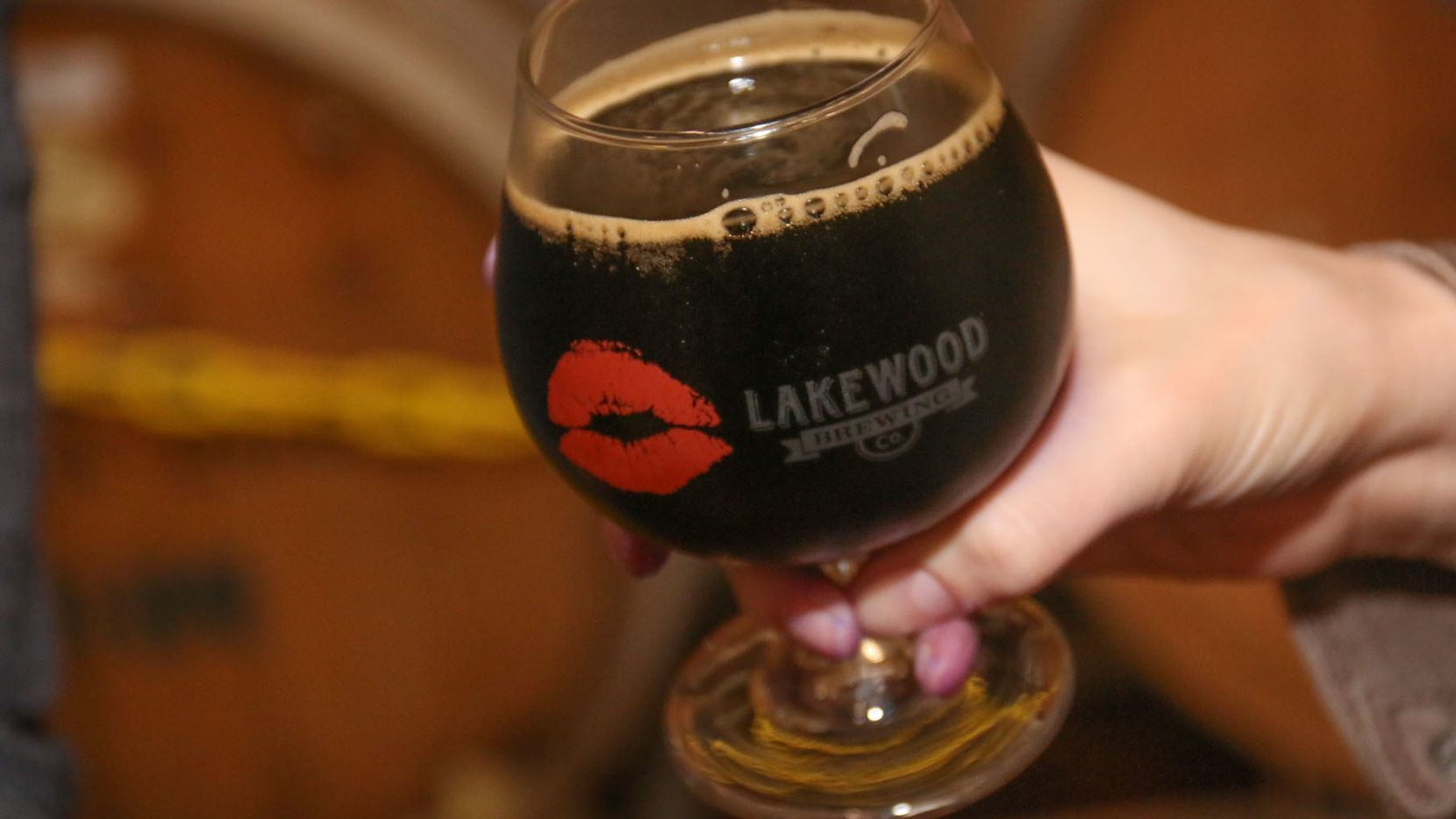 Lakewood Brewing Co. held its release party for its newest beer Bourbon Barrel Temptress at the brewery in Garland on December 12, 2015.