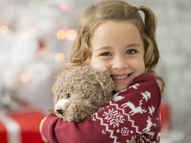 It's easy to bring a smile to a kid's face this holiday with a toy donation. You can drop presents off or order them online to be sent straight to a charitable organization.