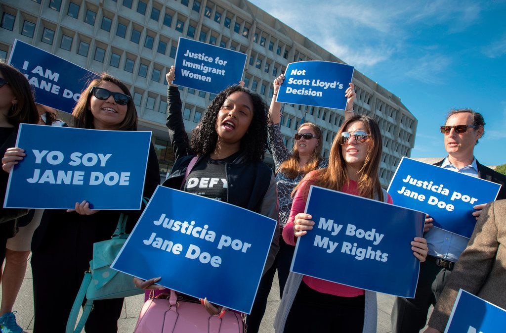 """The Office of Refugee Resettlement, an arm of the U.S. Department of Health and Human Services, directed its shelters to provide minors in their custody with """"A Woman's Right to Know,"""" Texas' controversial brochure about abortion."""
