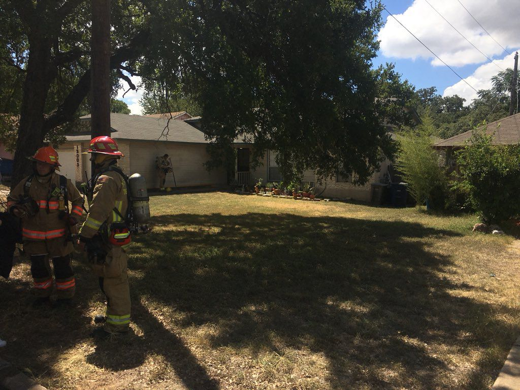 Fire officials said there was about $1,000 of damage to the stove and kitchen.