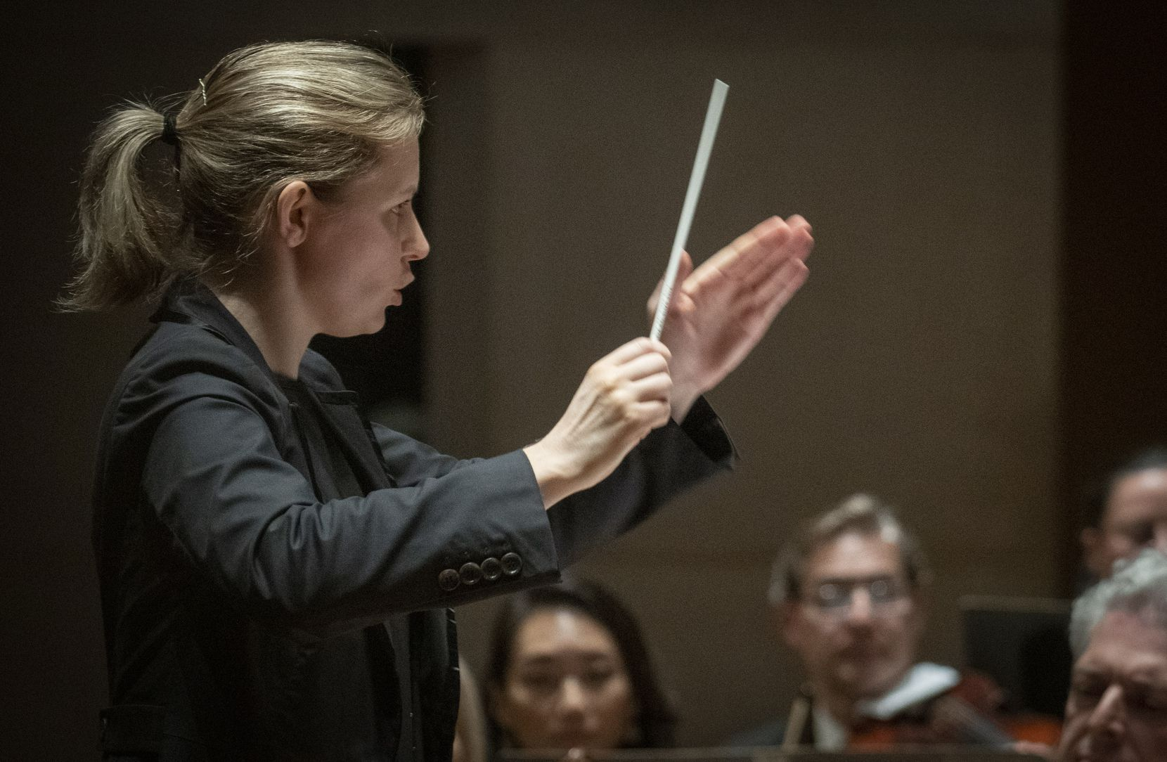 Gemma New, the DSO's principal guest conductor, will conduct a performance of Rachmaninoff's Symphonic Dances on March 6-8.