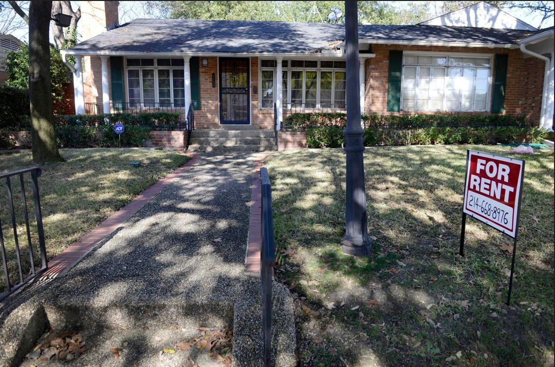 Dallas-area single-family home rents rose about 5.6 percent since last year.