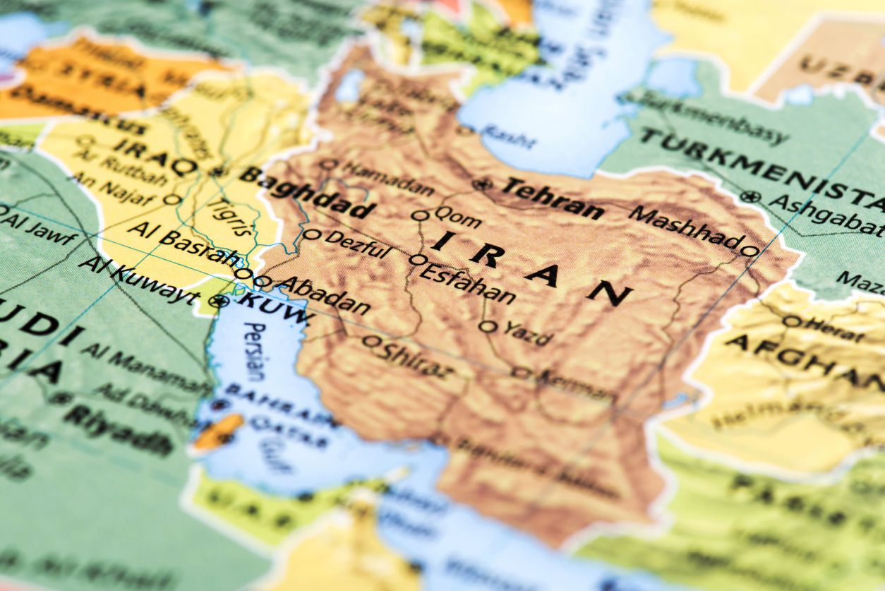 The five men are charged with conspiracy and violating U.S. economic sanctions on Iran.