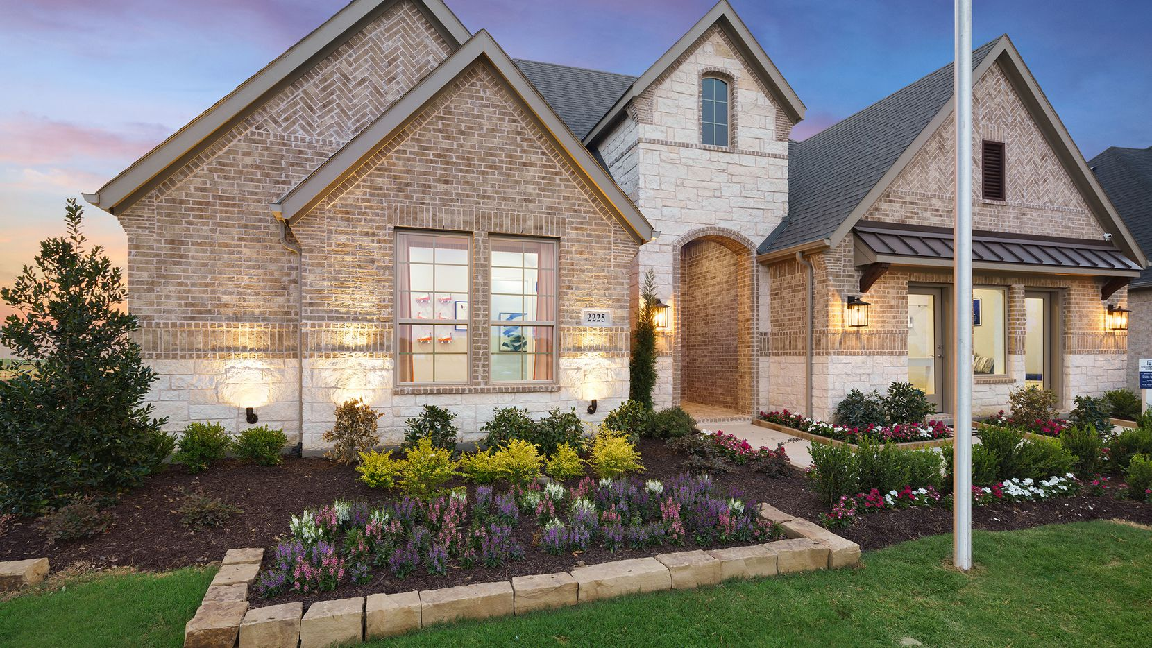 UnionMain Homes' Mason floor plan at 2525 Pinner Court in Celina's Cambridge Crossing offers a versatile floor plan and is open for tours.