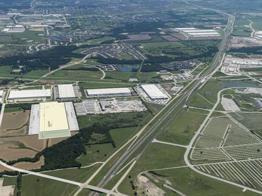 The AllianceTexas area in North Tarrant and Denton counties is one of the area's fastest growing industrial markets.