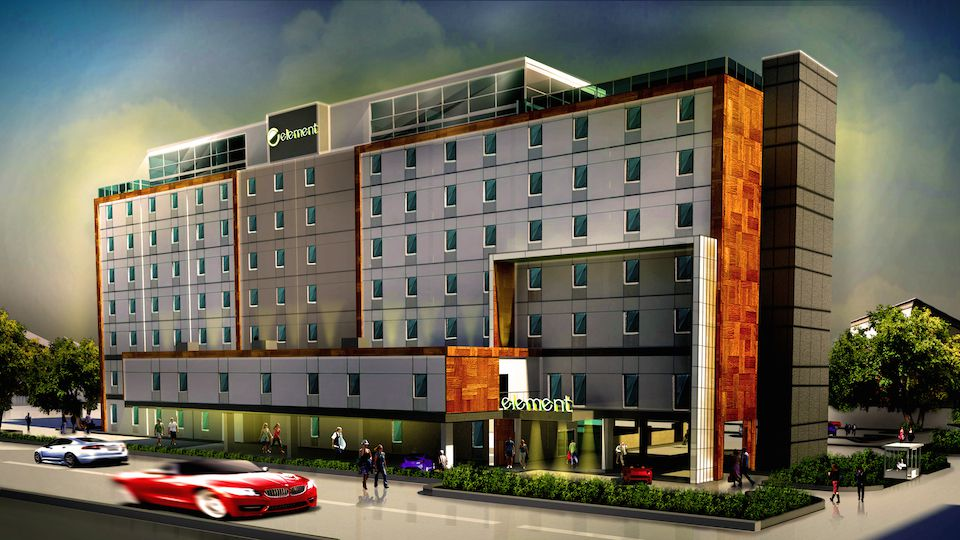 The remodeled building will house 151 hotel rooms. (Atlantic Hotels)
