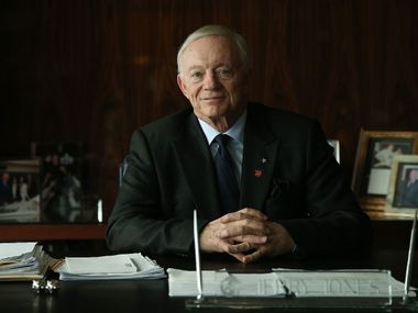 Jerry Jones is the owner, president, and general manager of the National Football League team the Dallas Cowboys and has owned the team since 1989. Jones was photographed in his office at The Star in Frisco, Texas Thursday January 5, 2017. (Andy Jacobsohn/The Dallas Morning News)