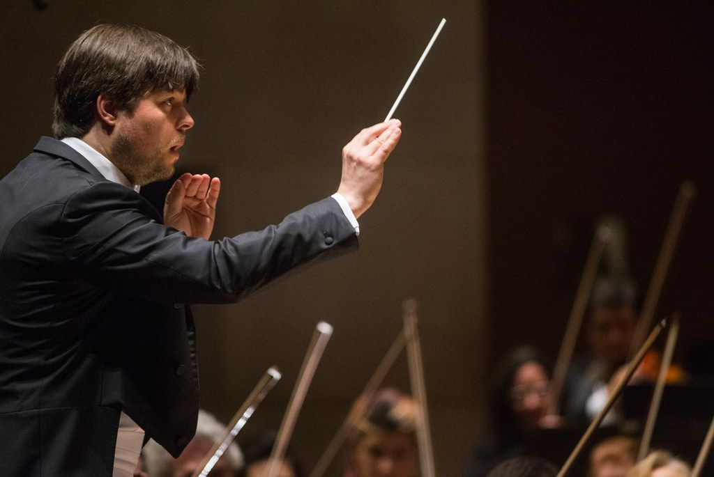 Led by guest conductor Juraj Valcuha, the Dallas Symphony Orchestra performed at the Meyerson Symphony Center on March 7 in Dallas.