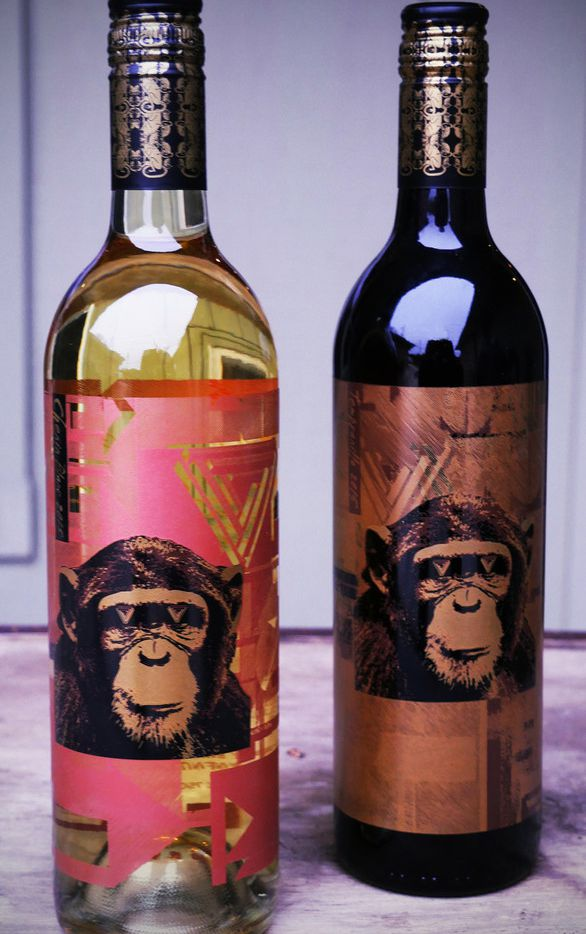 Infinite Monkey Theorem chenin blanc and a tempranillo from the Texas High Plains
