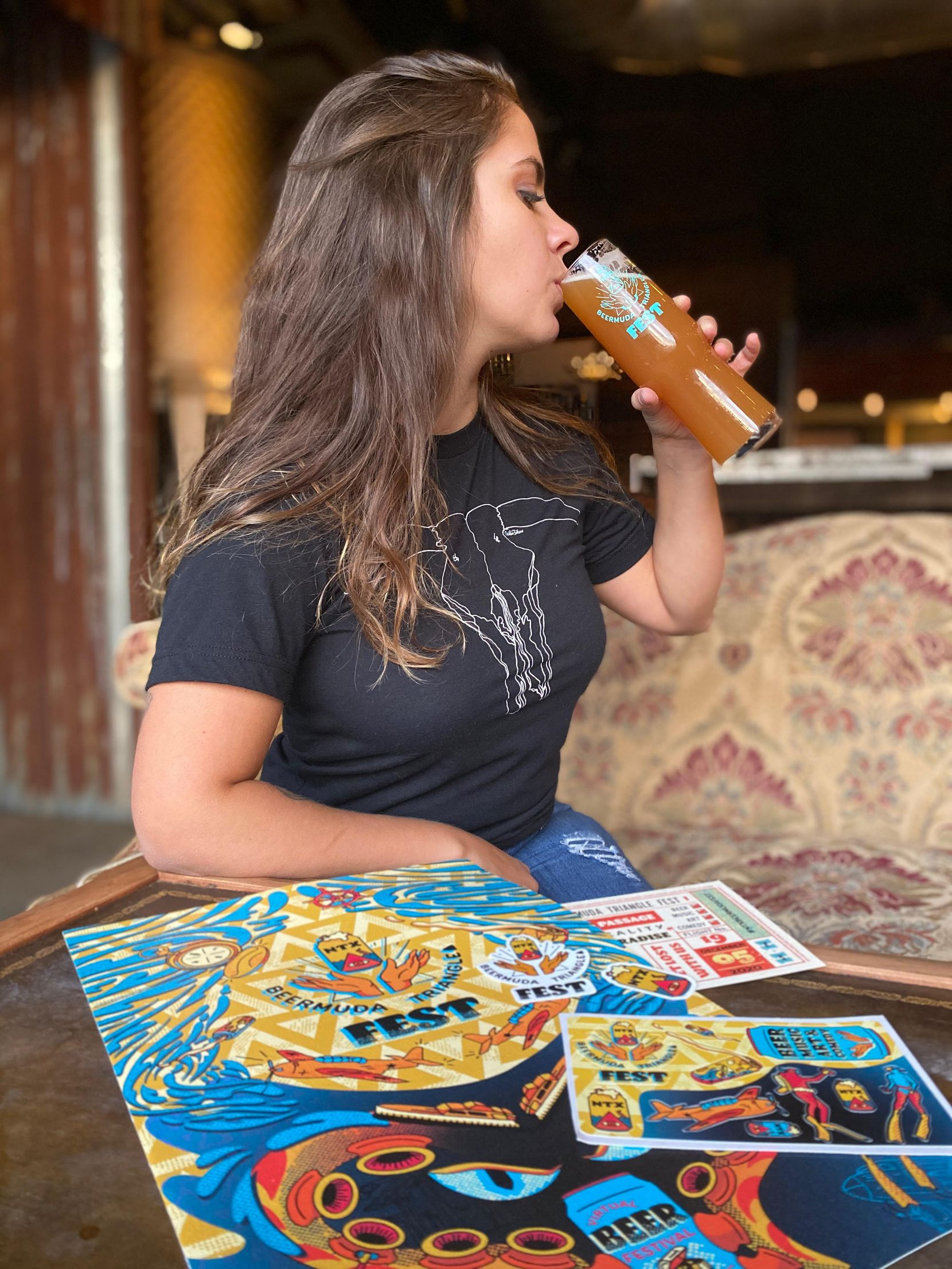The 2020 virtual NTX Beermuda Triangle Festival has been organized by women in the beer industry.